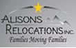 Alisons Relocations Inc